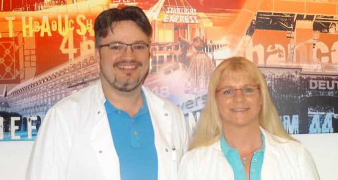 Dr. med. Edda Heisler und Franco Parisi